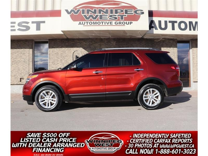 2014 Ford Explorer LOADED WITH LIMITED EDITION APPEARANCE & OPTIONS #GNW5695