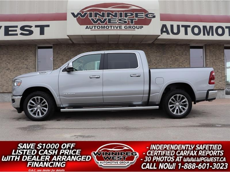 2019 Dodge Ram 1500 LARAMIE LEVEL 2, SAFETY GRP, PAN ROOF, ALL OPTIONS #GW5734A