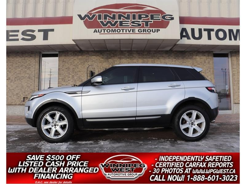 2012 Land Rover Range Rover Evoque PURE PREMIUM 2.0T AWD, FULLY LOADED, LOCAL, CLEAN! #GIWCON199