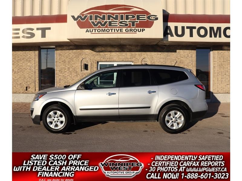 2017 Chevrolet Traverse *$110 BI-WEEKLY, LOADED 8 PASS, CLEAN LOCAL SUV! #GNW5757