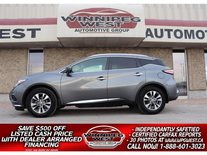 2015 Nissan Murano SL EDITION AWD, NAV, PAN ROOF, HTD LEATHER & MORE #GIW5745