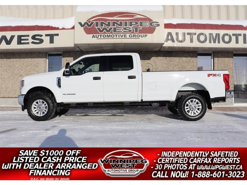 2018 Ford F-350 FX4 4X4 POWERSTROKE DIESEL 4X4, 8FT BOX, FLAWLESS #DW5778