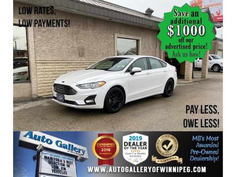 2019 Ford Fusion SE* B.cam/B.tooth/Htd seats/Nav #24714