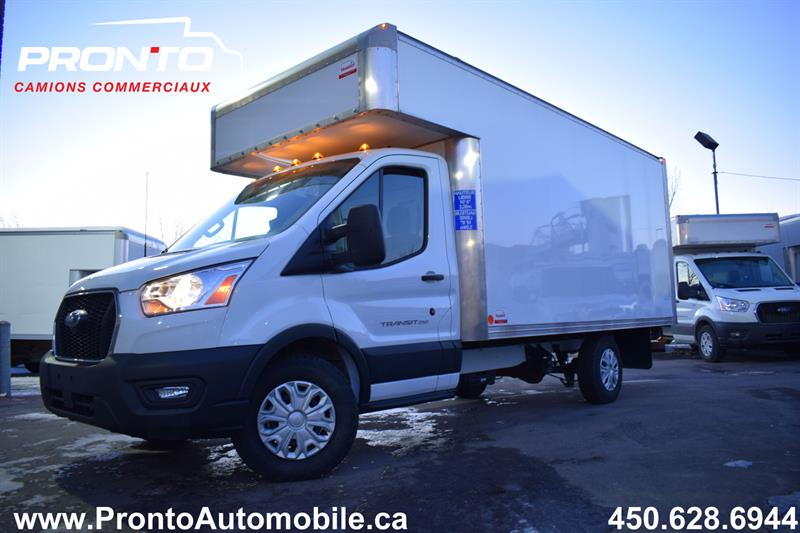 Ford Transit Cutaway 2020 Cube 14 pieds deck ** tres rare ** #20500
