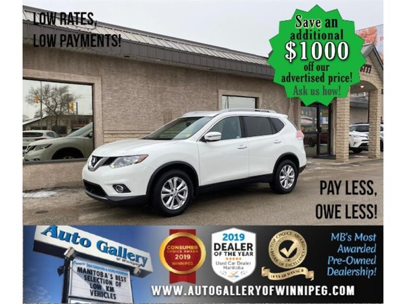 2016 Nissan Rogue SV* FWD/B.cam/Alloys/B.tooth/Htd seats #24721