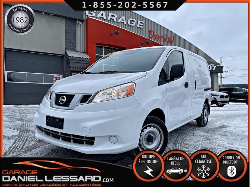 Nissan NV200 2020 ACCIDENTÉ ARRIÈRE , VGA CANADIEN, CAMERA DE RECUL #01003