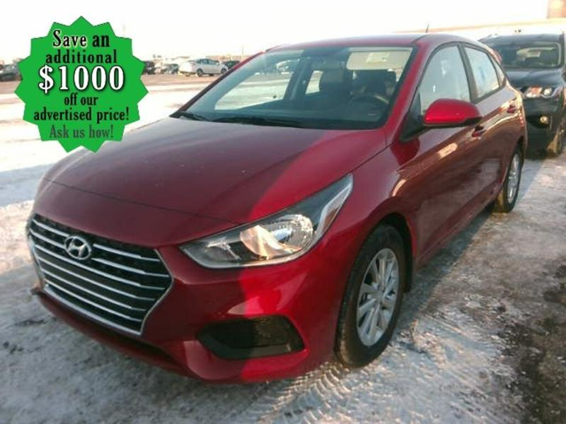2020 Hyundai Accent Preferred* HB/B.cam/B.tooth/Htd seats #24735