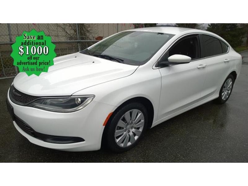 2015 Chrysler 200 LX* AT/Keyless Entry #24738