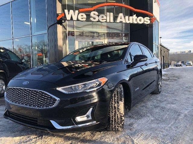 2019 Ford Fusion Hybrid Titanium #19FF55196