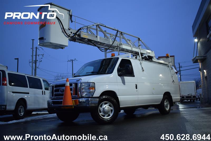 Ford Econoline Cargo Van 2014 E-350 Super Duty Ext ** Nacelle TTS25 ** #20502