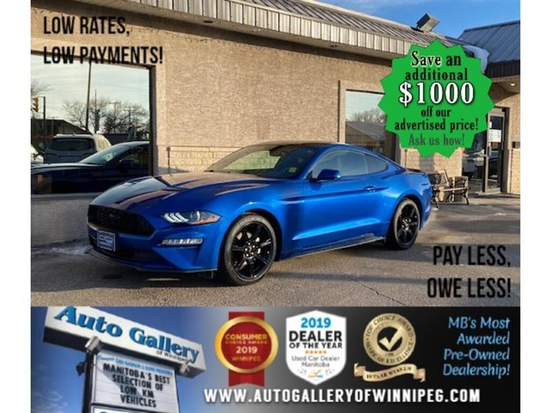 2018 Ford Mustang EcoBoost Fastback* B.tooth/B.cam #24722
