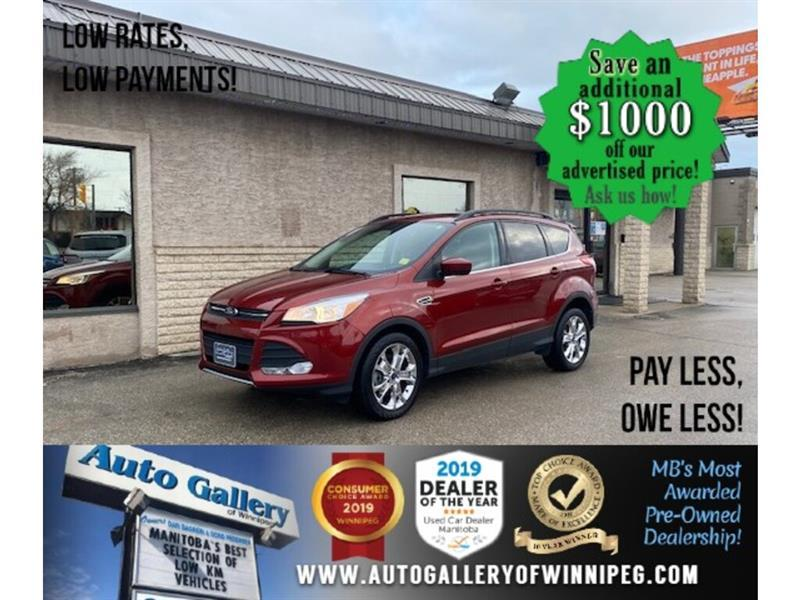 2014 Ford Escape SE* AWD/B.cam/B.tooth/Satellite radio #24745