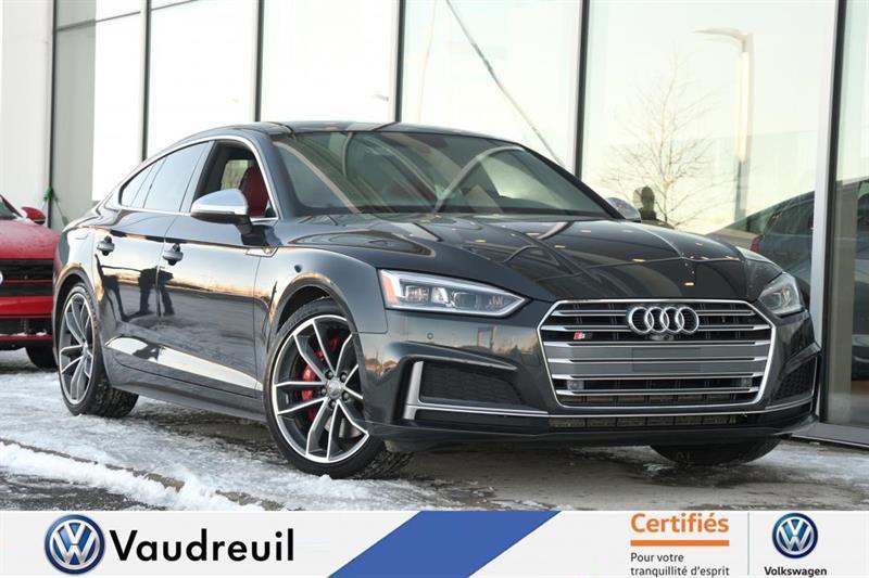 2018 Audi  S5 Technik * B&O * CUIR ROUGE