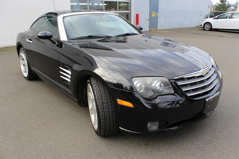 2004 Chrysler Crossfire 6-Speed Manual Transmission. Leather. #13269A (KEY 17)