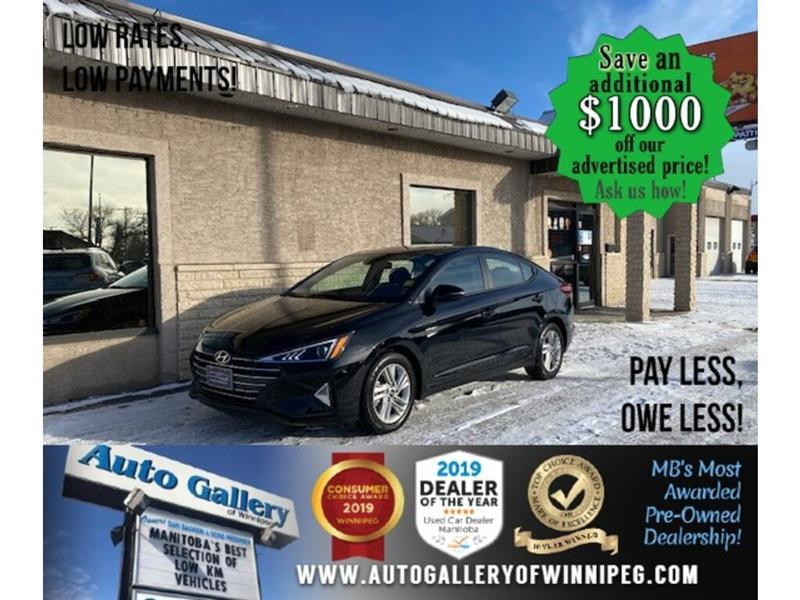 2020 Hyundai Elantra Preferred* B.tooth/Htd seats/Sunroof/Low Kms #24743