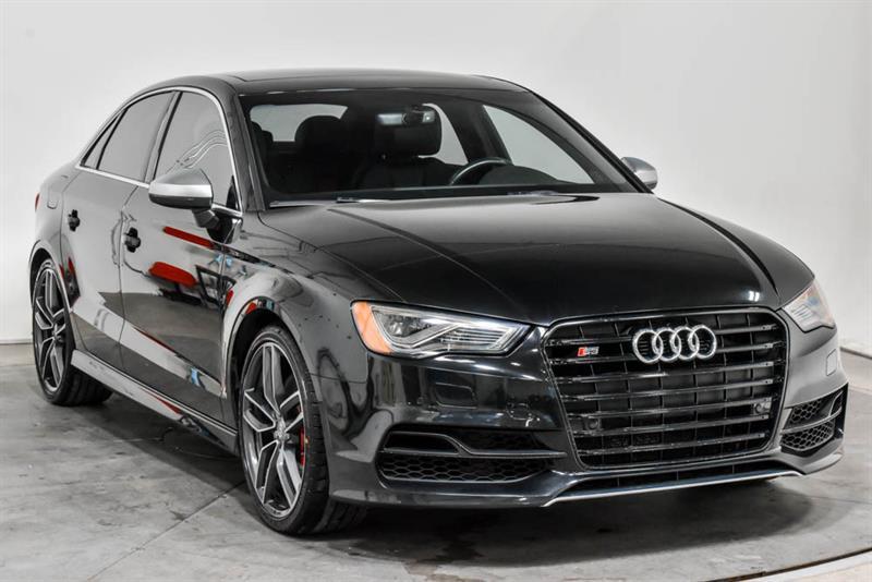 Audi S3 TECHNIK AWD CUIR TOIT NAV 2016