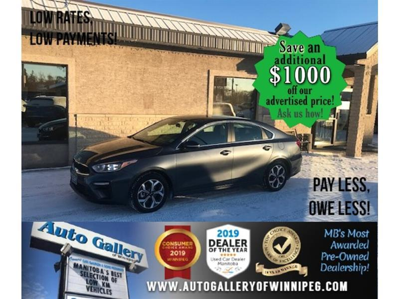 2020 Kia Forte EX* LOW KMS/Bluetooth/HEATED SEATS #24744