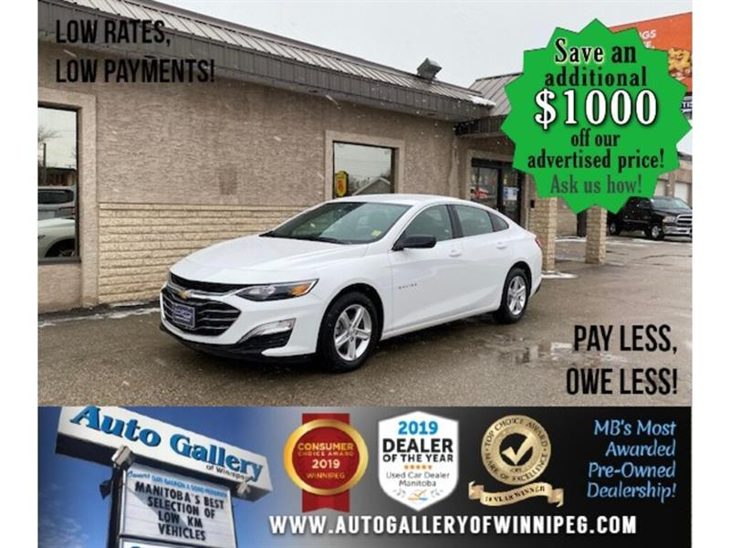 2020 Chevrolet Malibu LS* LOW KMS/Apple CARPLAY/REMOTE START #24756
