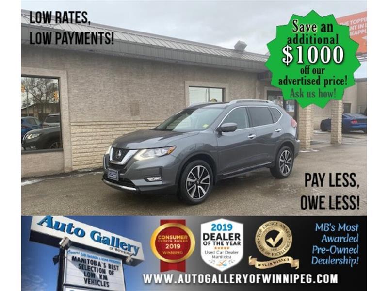 2019 Nissan Rogue SL* LOW KMS/AWD/Heated Seats/NAV/REMOTE START #24752