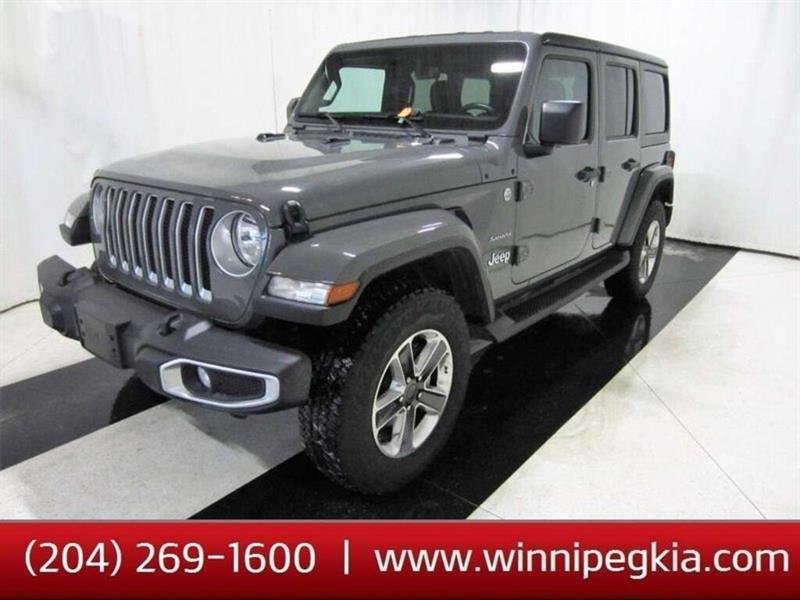 2020 Jeep Wrangler Unlimited Sahara #20JW92835