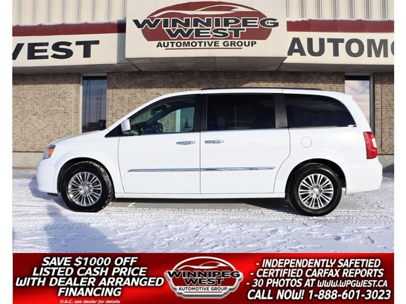 2016 Chrysler Town & Country LIMITED EDITION, HTD LEATER,NAV, DVD, ROOF, SHARP #W5816