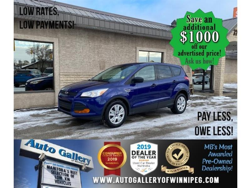 2016 Ford Escape S* LOW KMS/Automatic/CRUISE CONTROL #24742