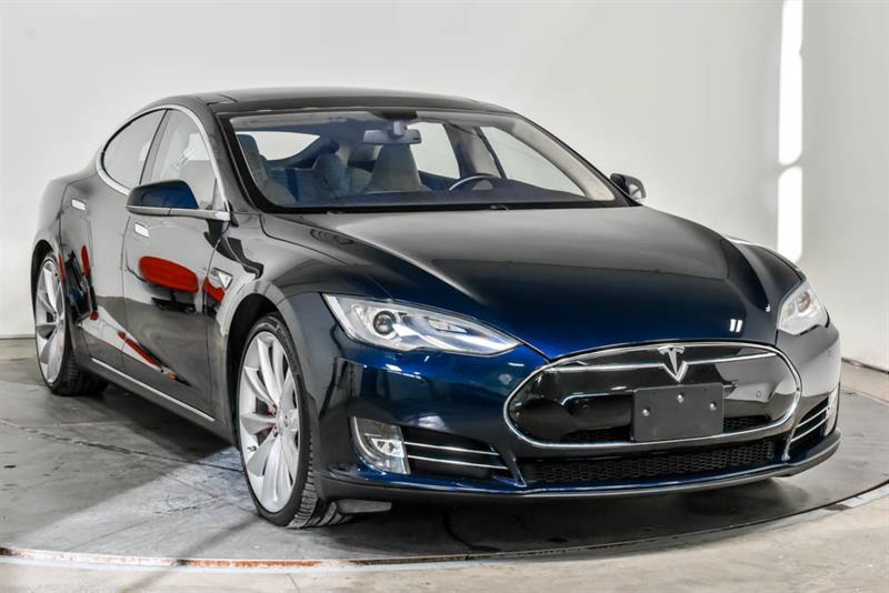 Tesla Model S P85 ELECTRIQUE CUIR TOIT PANO  2014