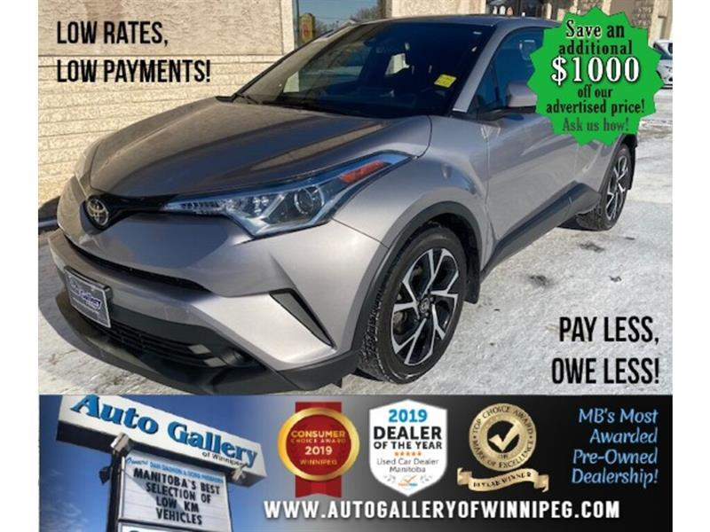 2018 Toyota C-HR XLE* LOW KMS/Bluetooth/HEATED SEATS #24657
