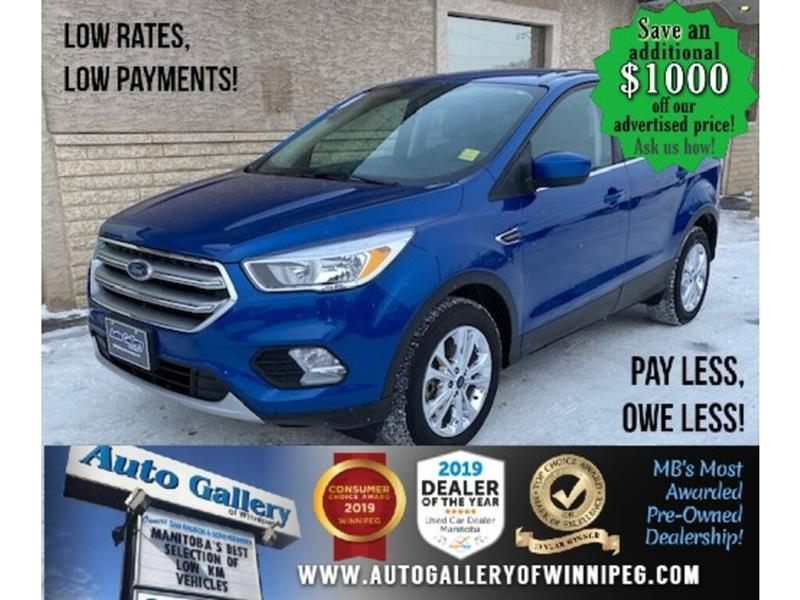 2017 Ford Escape SE* LOW KMS/AWD/Bluetooth/HEATED SEATS #24746