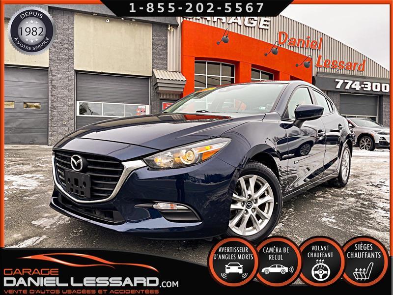 Mazda Mazda3 2017 HBK  SPORT GS, AUTO, CAM RECUL, DETEC ANGLE MORT.  #71040