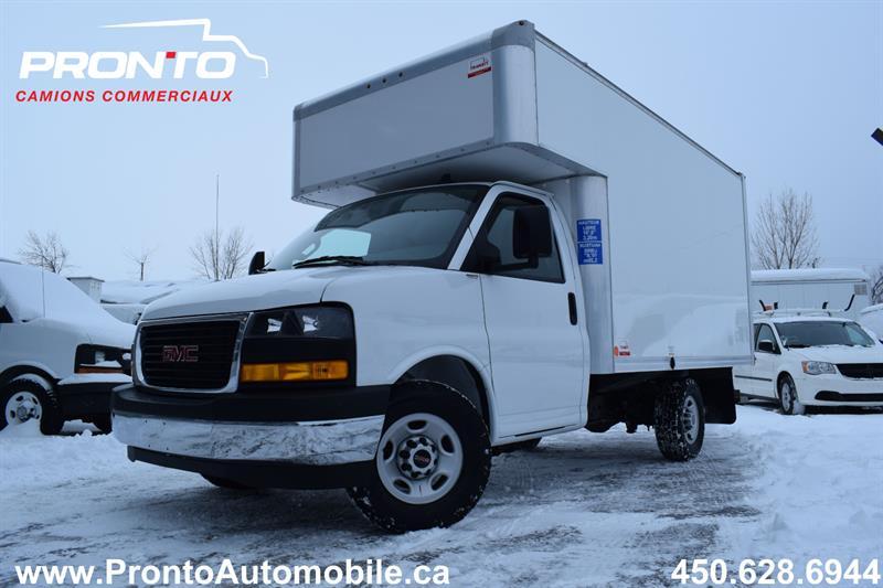 GMC Savana Commercial Cutaway 2020 3500 Cube 12 pieds deck ** 4.3L **  #10538