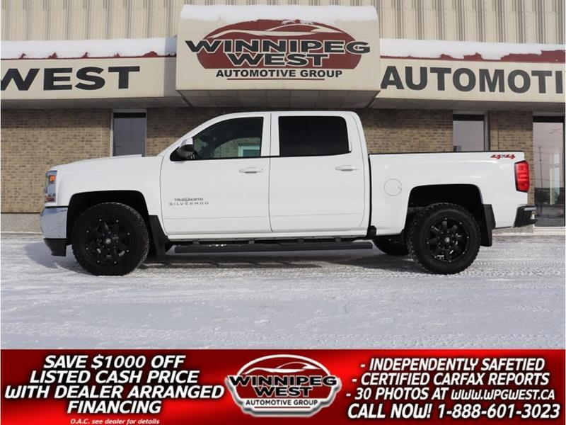 2018 Chevrolet Silverado 1500 CREW NORTH ED 5.3L V8 4X4, HTD SEAT, CLEAN LOCAL #GW5822