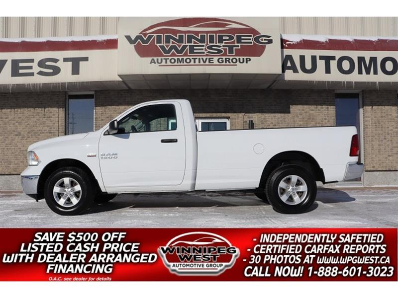 2015 Dodge Ram 1500 SXT 5.7L HEMI 4X4, LOADED, 8FT BOX, HUGE VALUE! #GW5826A