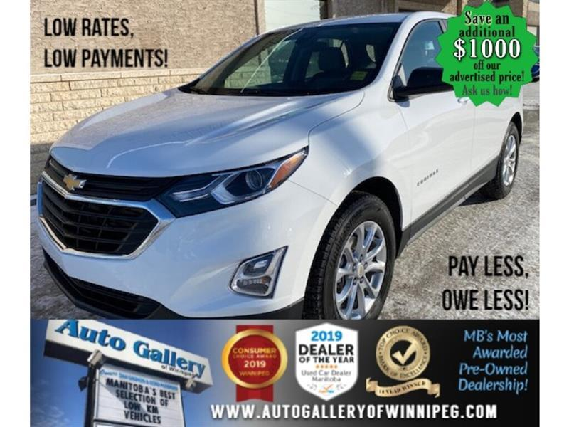 2020 Chevrolet Equinox LS* Bluetooth/Low kms/REMOTE STARTER #24760