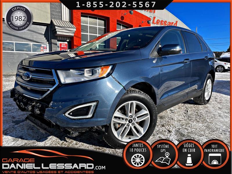 Ford EDGE 2018 SEL * PAS VGA * FWD, TOIT PANO, GPS, MAG 18 #PASVGA81044
