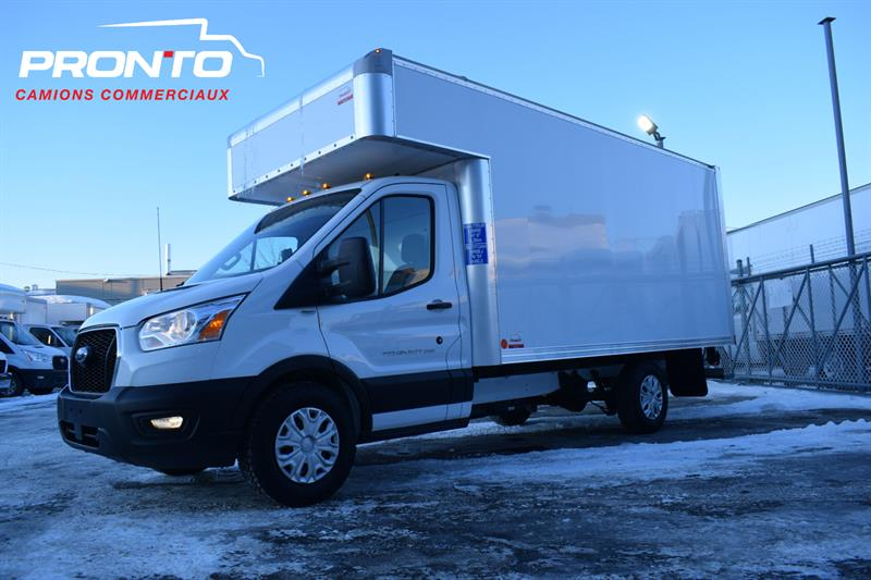 Ford Transit Cutaway 2020 T-250 Cube 14 pieds deck #10544