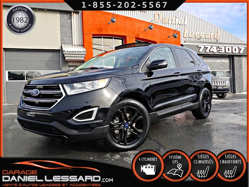 2018 Ford EDGE 17263KM, TITANIUM BLACK ÉDITION, TRACTION AVANT #89787