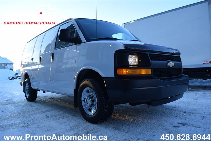 Chevrolet Express Cargo Van 3