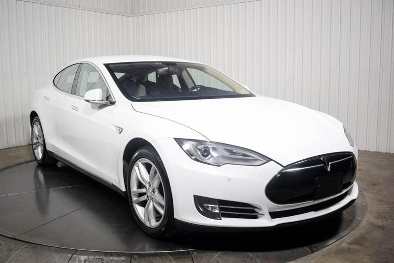 Tesla Model S 85 KWH CUIR NAV 2014