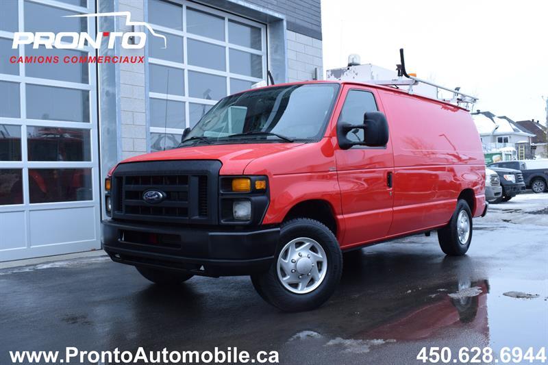 Ford Econoline Cargo Van 2012 E-250 ** VOIR ÉQUIPEMENTS ** IMPECCABLE ** #10547
