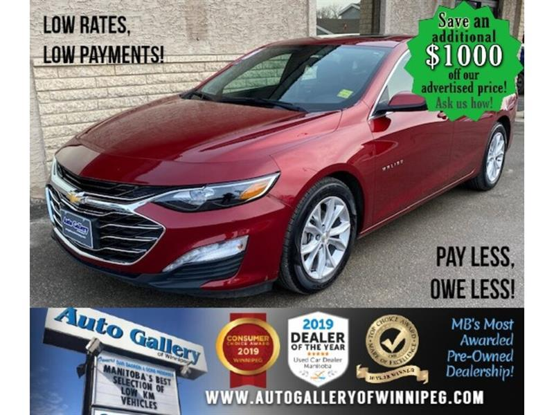 2020 Chevrolet Malibu LT* Sunroof/Heated Seats/REMOTE STARTER #24795