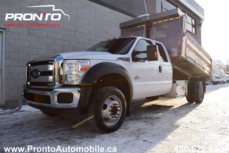 Ford Super Duty F-550 Drw 2015 4WD ** 6.7L DIESEL ** DOMPEUR ** #N1819