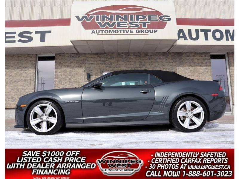 2015 Chevrolet Camaro ZL1 CONVERT, ALL OPTIONS, FLAWLESS, 580HP FUN!! #W5844