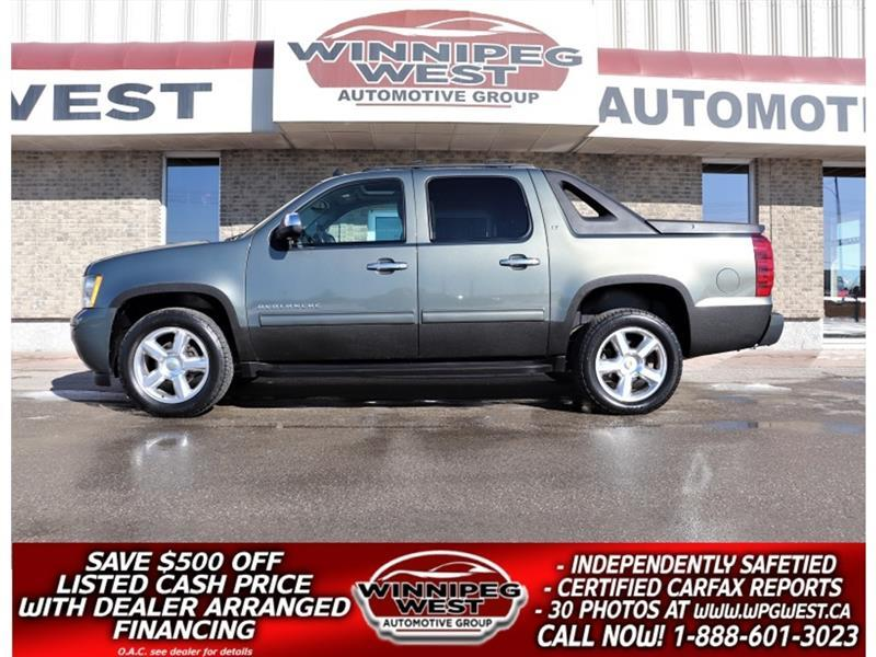 2011 Chevrolet Avalanche LT2 1SC CREW 5.3L 4X4, LEATHER, SUNROOF, LOADED! #GW5850