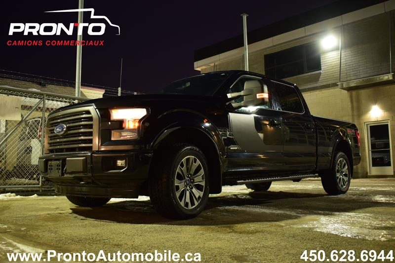 Ford F-150 2017 4WD SuperCrew #4215