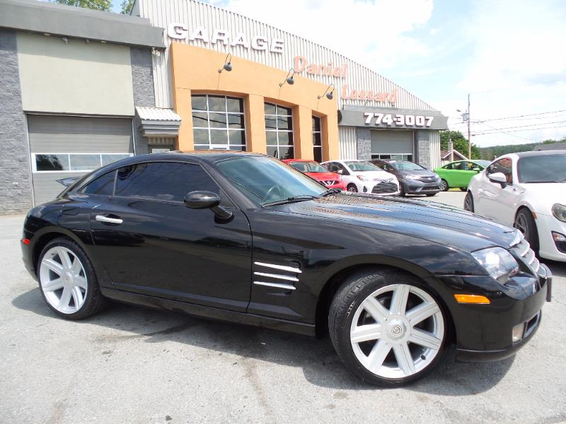 chrysler crossfire coupe auto cuir mag 76 146 km 2004. Black Bedroom Furniture Sets. Home Design Ideas