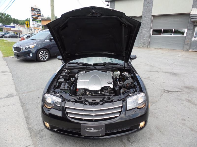 Chrysler crossfire coupe auto cuir mag 76 146 km 2004 for Garage daniel auto