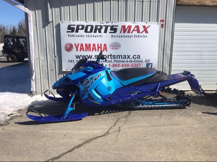 2020 Yamaha Sidewinder BTX