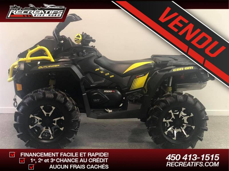 Can-am Outlander Max 1000 2018