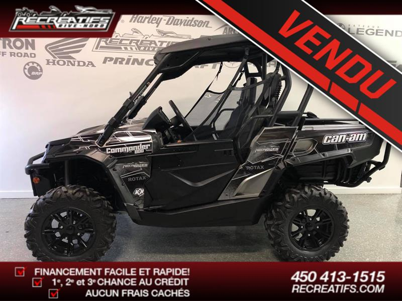 Can-am Commander 800R 2013